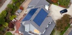 Solar Shingle Canada Aerial