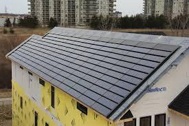 Solar Shingle Canada - New House Construction