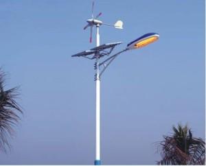 WRI Globe LED Off Grid Pole Light